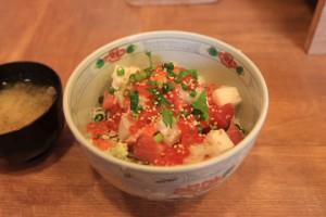 気仙沼の海鮮丼