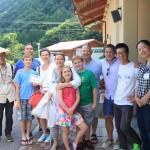 木曽町観光協会とアメリカ人家族
